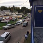 The parking lot was full of fans supporting their Negaunee Miners on Sunny.FM.