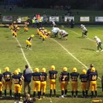 The Negaunee Miners defending their turf on 10/06/17 against the Manistique Emeralds on Sunny.FM.