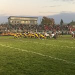 The Marquette Redmen defeated the Negaunee Miners in Negaunee, Michigan 35-19 on 101.9 Sunny FM - The home of the Negaunee Miners.