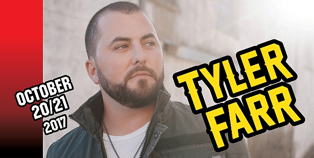 Spend $109 to be eligible for free Tyler Farr tickets!