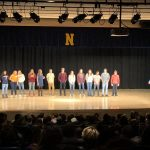 """Meet the Miners"" for the winter sports at Negaunee High School."