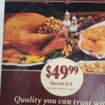 Looking for an easier way to do Thanksgiving Dinner this year? Why not choose Super One Foods.