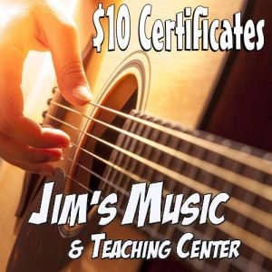 Save at Jim's Music with UPBargains.com