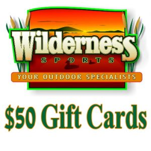 Shop at Wilderness Sports and get out on the Ice while it's still good
