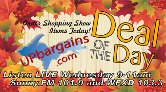 See the Daily Deals on our Shopping Show