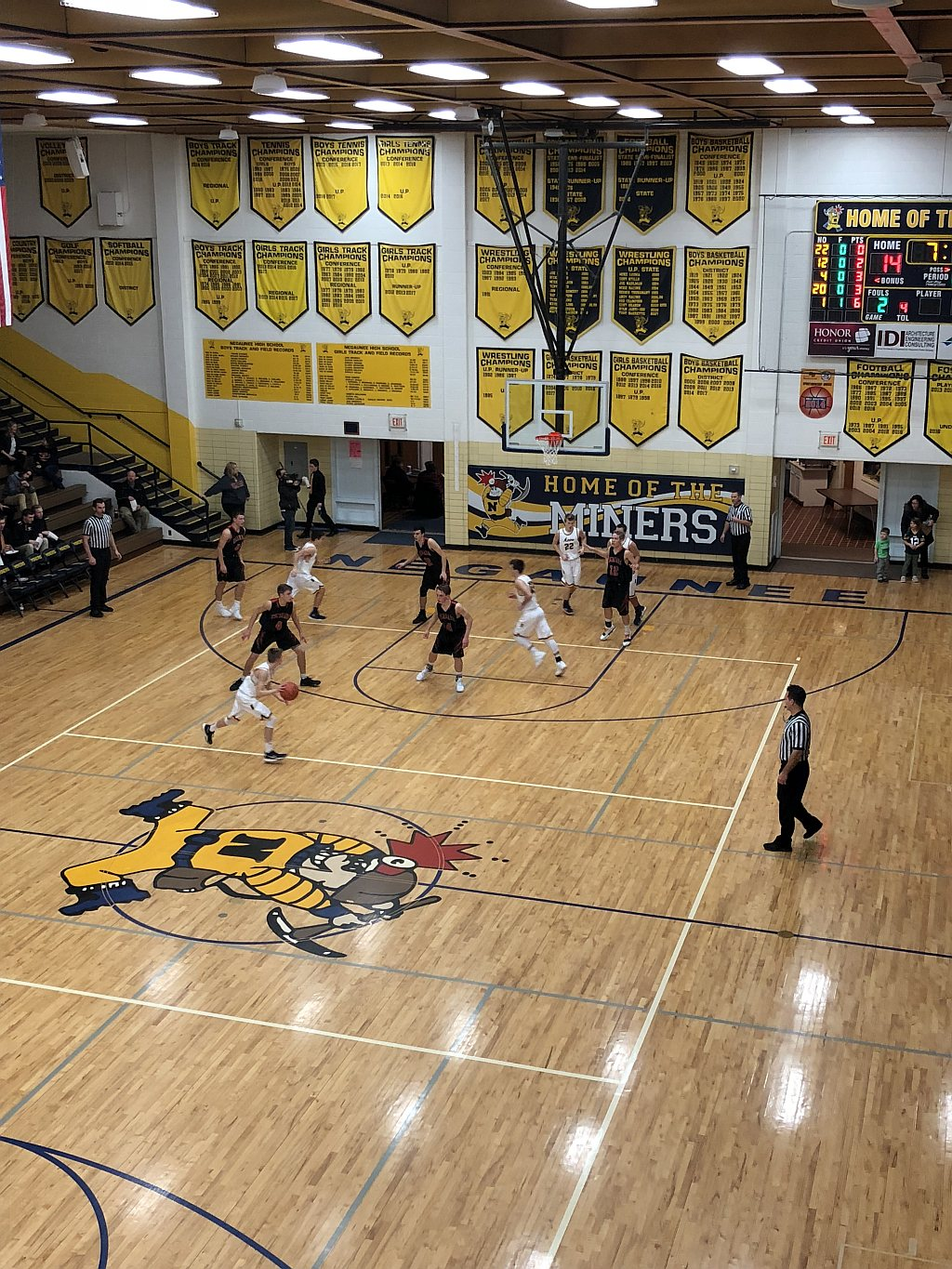 12 05 2017 negaunee miners boys basketball is defeated by for Newberry motors newberry michigan
