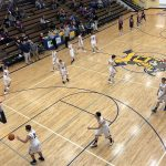 Pre-game for the Negaunee Miners Boys basketball as they get ready to take on the Menominee Maroons.