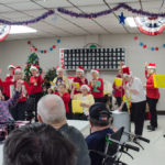 They lead the group in some of the best Christmas carols.
