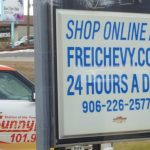 You can shop for a vehicle online at freichevy.com