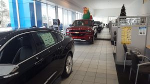 Come to Frei Chevrolet and check out the showroom