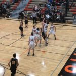 Jump-ball between the Miners Boys and the Houghton Gremlins!