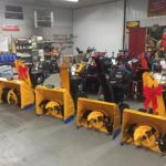 Thinking about a new snowblower for winter? You can even get one with a bow!