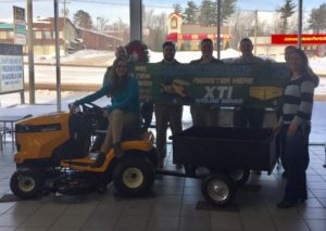 Come check out the mower at Frei Chevrolet on US-41 in Marquette.