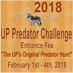 Purchase your U.P. Predator Challenge Entrance Fee Tickets.