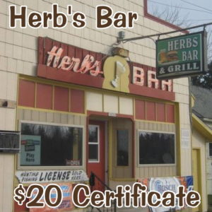 Stop in at Herb's of M-35 in Rock Michigan.