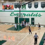 High School Basketball- Negaunee Miners VS Manistique Emeralds.