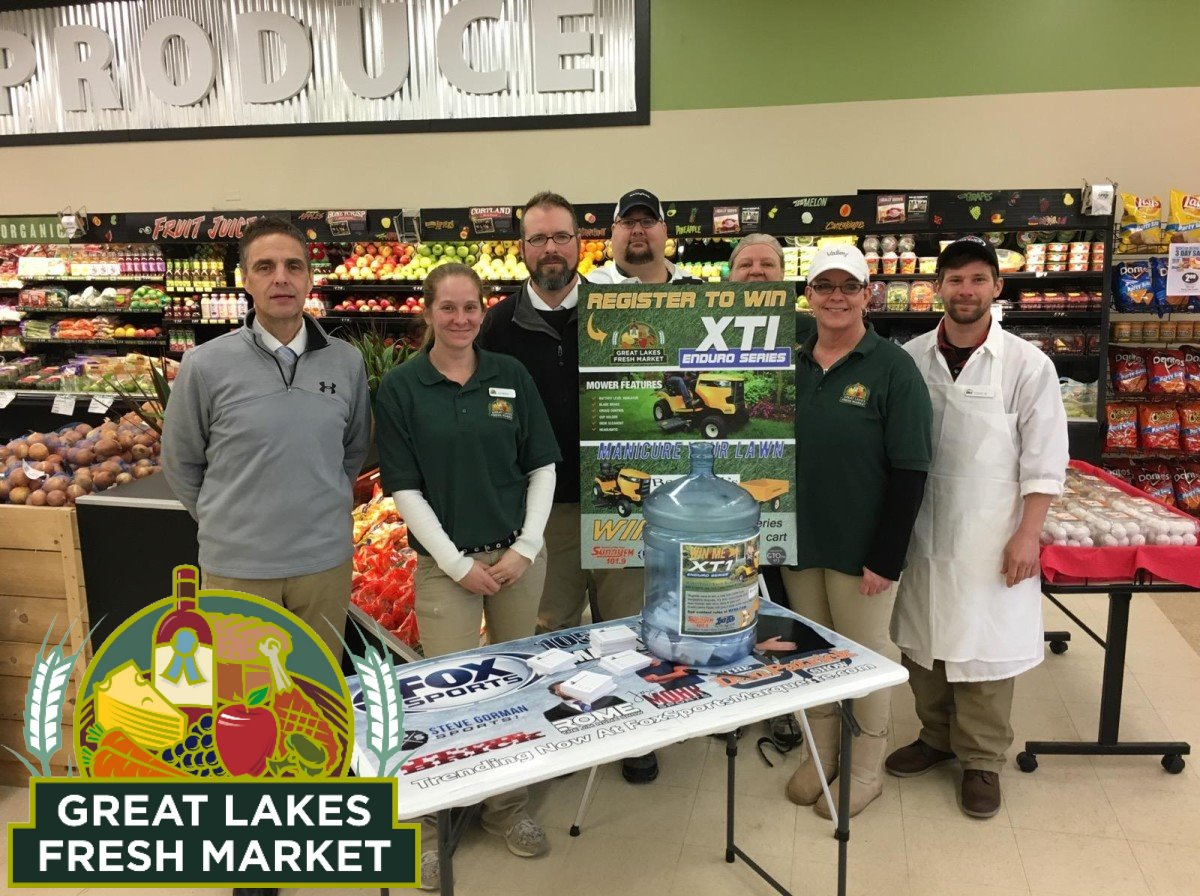 great lakes fresh market harvey michigan 1-18-2018 manicure your lawn giveaway