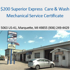 Visit Superior Express Care & Wash in Marquette