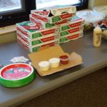 Big thanks to Jet's Pizza for provided a lunch.