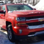 This Victory Red Silverado really caught the Major's eye!
