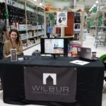 Wilbur and Jennifer Jennings are out at Menards, come talk to them.