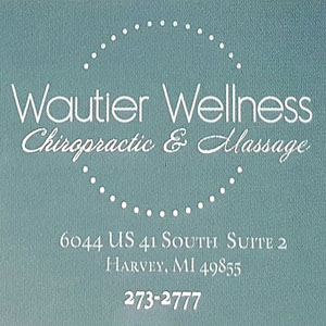 Pick up a certificate for you or someone else to use at Wautier Wellness.