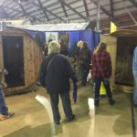 Keweenaw Barrel Saunas had a big exhibit this year!