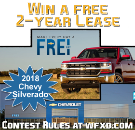 Register to Win a 2-Year Lease on a Silverado