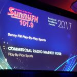 Sunny.FM won Best in Category for Play-by-Play Sports