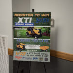 Tonight we gave away the XT1 Enduro Series Cub Cadet Mower and Cart