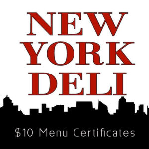 Try the Flavors of the World Tour starting with Portugal week at New York Deli!