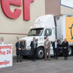 Since 2010, Meijer has donated 93 tractors and 33 trailers to community partners across the Midwest.