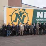 Meijer and NMU Representatives gather for a group photo.