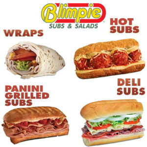 Enjoy a meal at Blimpie Subs with a $10 Certificate from UPBargains.com