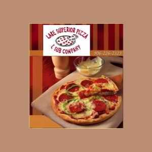 Order your dinner from Lake Superior Pizza and save with UPBargains.com