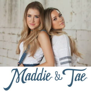 Get your Maddie and Tae tickets for just $18.00 and see them live at NMU!