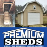 Purchase a Gambrel Shed from Premium!
