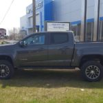 Come in and look at the new Colorado.