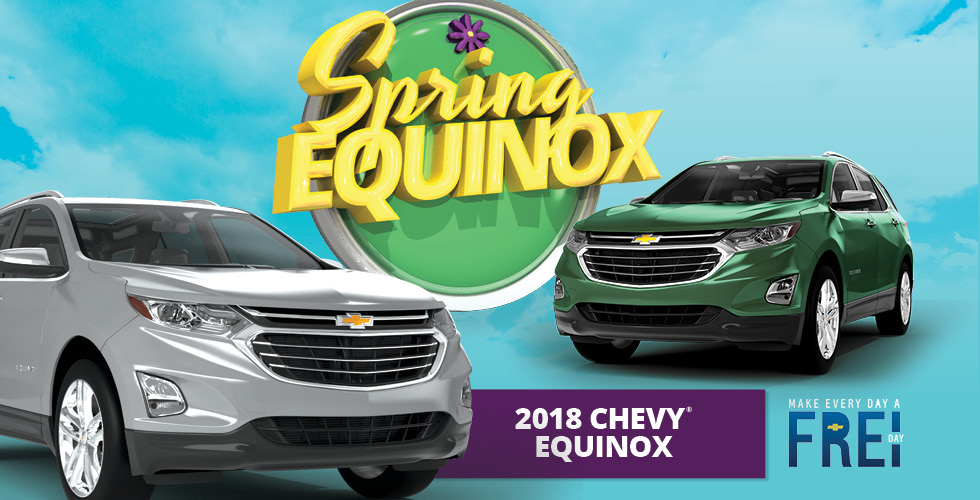 Win the Brand New 2018 Chevy Equinox This Weekend at Ojibwa