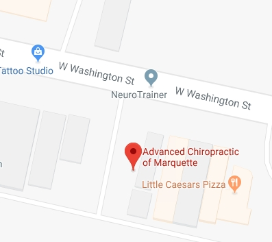 Advanced Chiropractic is on Washington Street in Marquette
