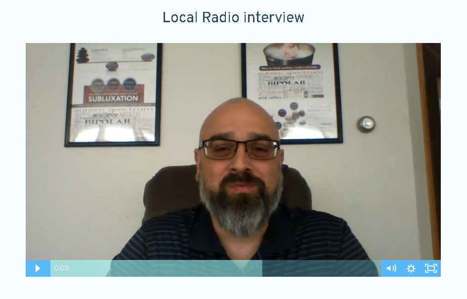 Click to watch and listen to the interview with Doc Milano