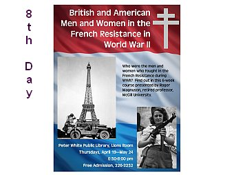 Roger Magnuson Interview British Americans WWII French Resistance