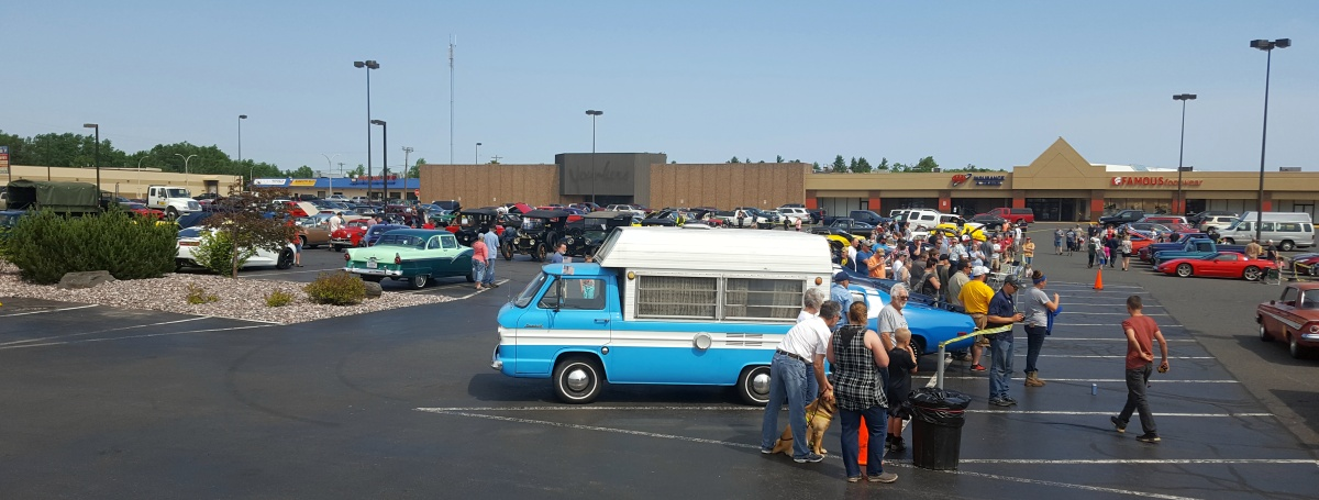 """The 9th Annual """"Catch the Vision"""" Car Show & Cruise at the Westwood Mall."""