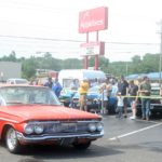 Marquette Township Catch the Vision Car Show 6-19-2018 Pomps Burn Out