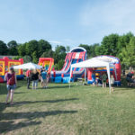 The Family Fun Zone was HUGE!