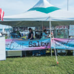 Get fresh popcorn or cotton candy from Sweet -n- Salty.
