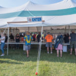 The beer tent was very popular with Michigan brews like Bells' Oberon and Amber Ale.