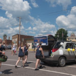The Negaunee Dance Team during the parade.
