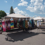 There are some cool tents set up with dresses, jewelry and more