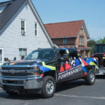 What a cool truck design for Marquette Power Sports.